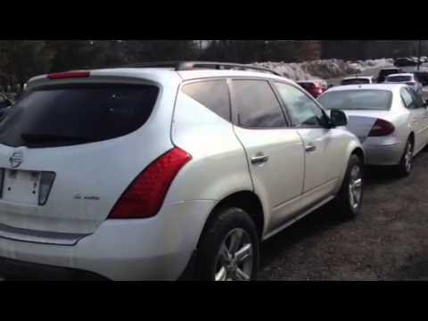 Clean 2007 Nissan Murano Tow Pkg And Roof Racks