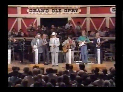 "Larry Cordle & Bill Monroe ""Kentucky King"" Grand Ole Opry 1989"