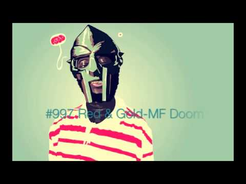 #997 Red & Gold-MF Doom
