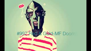#997 Red & Gold-MF Doom