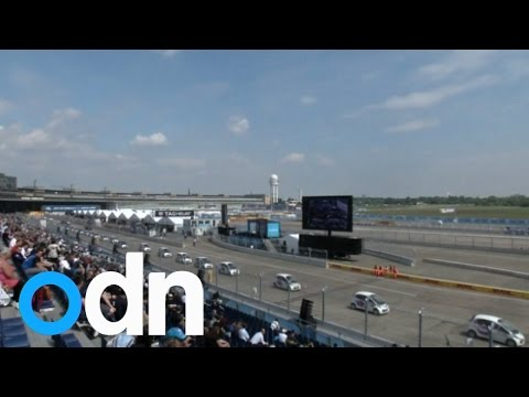 Record breaking gathering of electric cars