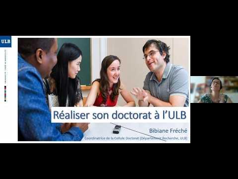 Réaliser son doctorat à l'ULB