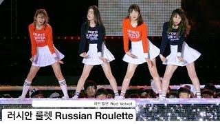 레드벨벳 Red Velvet [4K 직캠]러시안 룰렛 Russian Roulette@20161022 Rock Music