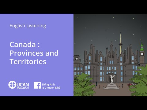 Learn English Listening | Pre-Intermediate - Lesson 4. Canada : Provinces and Territories