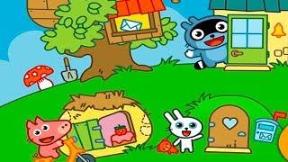 МАЛЫШ Панго и ДРУЗЬЯ ударила МОЛНИЯ обкакался в ТУАЛЕТЕ Игровой мультик для детей Игра для малышей