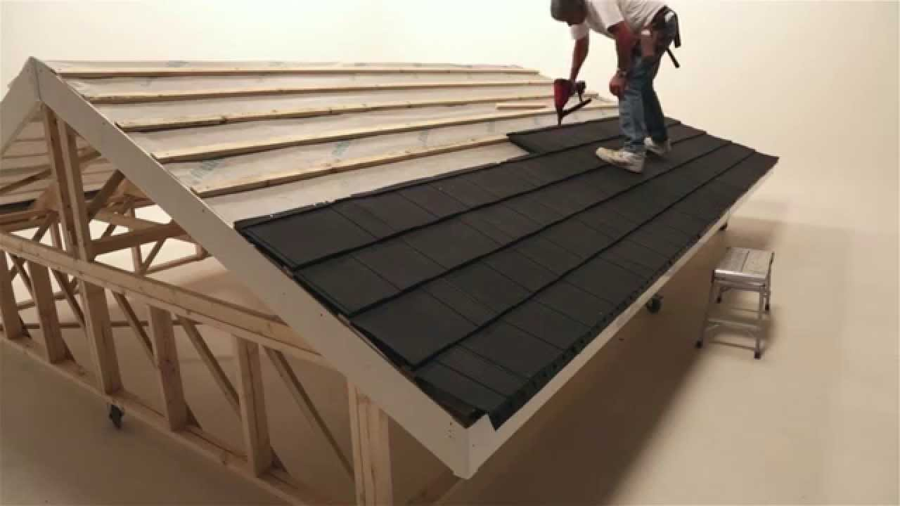 Fixing Installing Lightweight Roofing Tiling For The