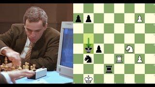 Agressividade entre homem e máquina | Kasparov x Deep Blue (1997) - Partida 05/06