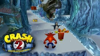 Let's Play Crash Bandicoot 2: Cortex Strikes Back: Part 2 - Snow Go [Crystal, Box Gem]
