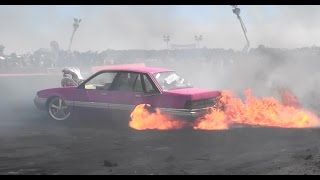 TIP INS & QUALIFYING BURNOUT HIGHLIGHTS AT UBC 8 BALLARAT