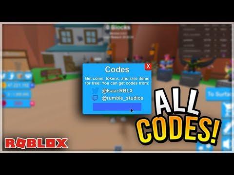 ALL *NEW* Mining Simulator Codes Feb 2020 - ROBLOX