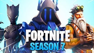 * NEW * SEASON 7 SKINS passe de batalha vazou no Fortnite Battle Royale