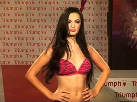 TRIUMPH LINGERIE UNVEILING ITS NEW RANGE FASHION SHOW
