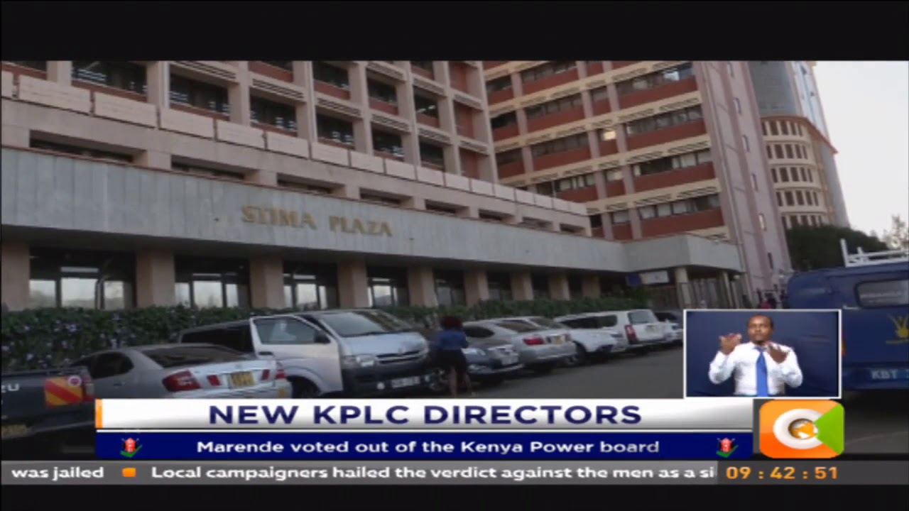 Marende voted out of the Kenya Power board