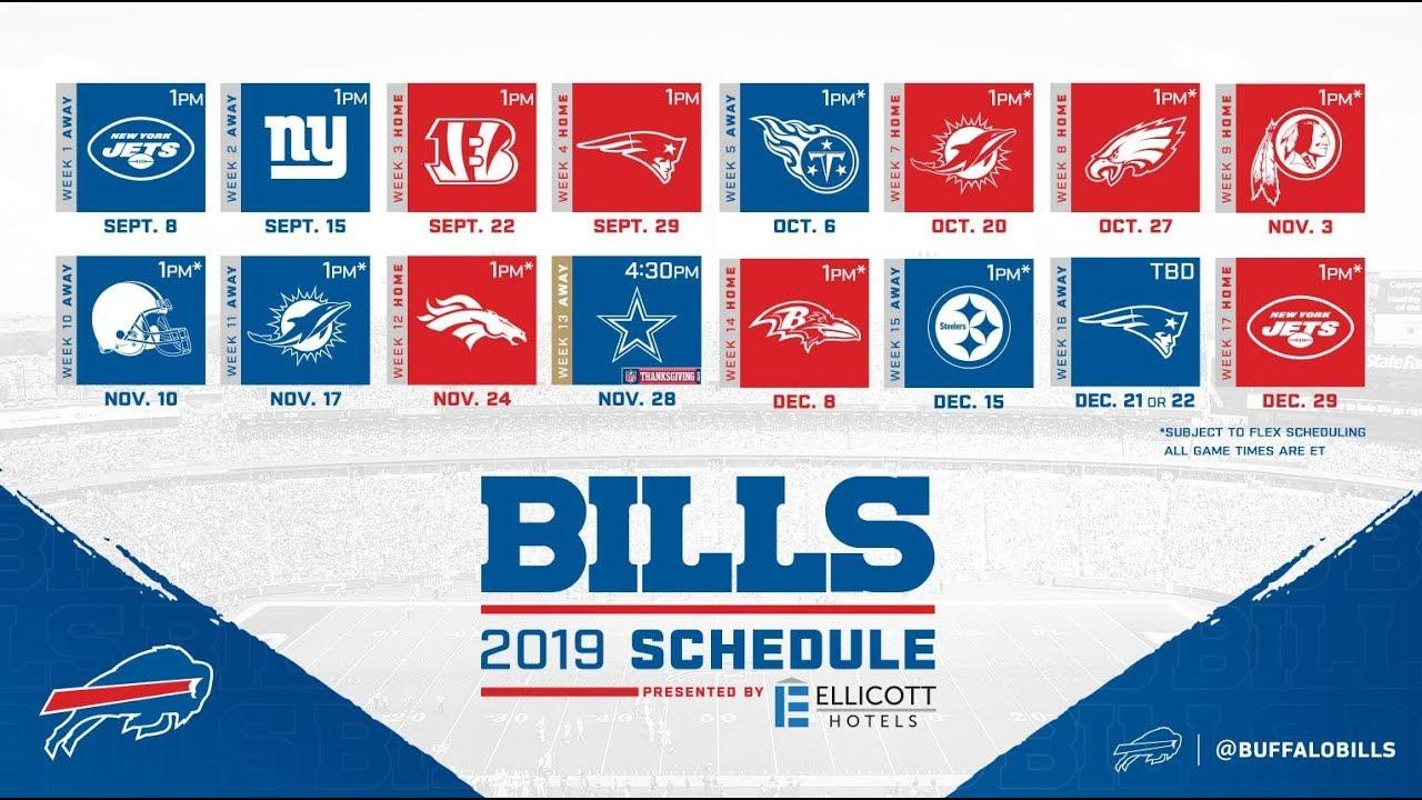 2020 Bills Schedule Swipe Right for the 2019 Buffalo Bills Schedule   YouTube