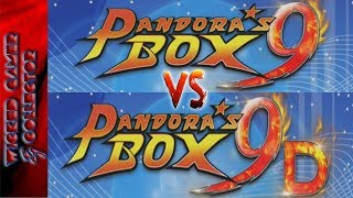 Pandora's Box 9 vs 9D what is the main difference ?