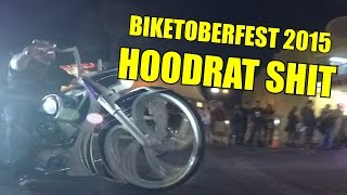 "Biketoberfest 2015 - Part 2 ""The Night Life"" (More Wheelies & Hoodrat Shit)"