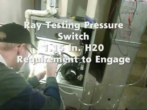 HVAC Diagnostic Testing Techniques on a 90% American Standard Furnace in Louisville Kentucky