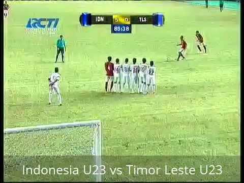 Cuplikan Gol Pertandingan Timnas Indonesia U23 Vs Timor