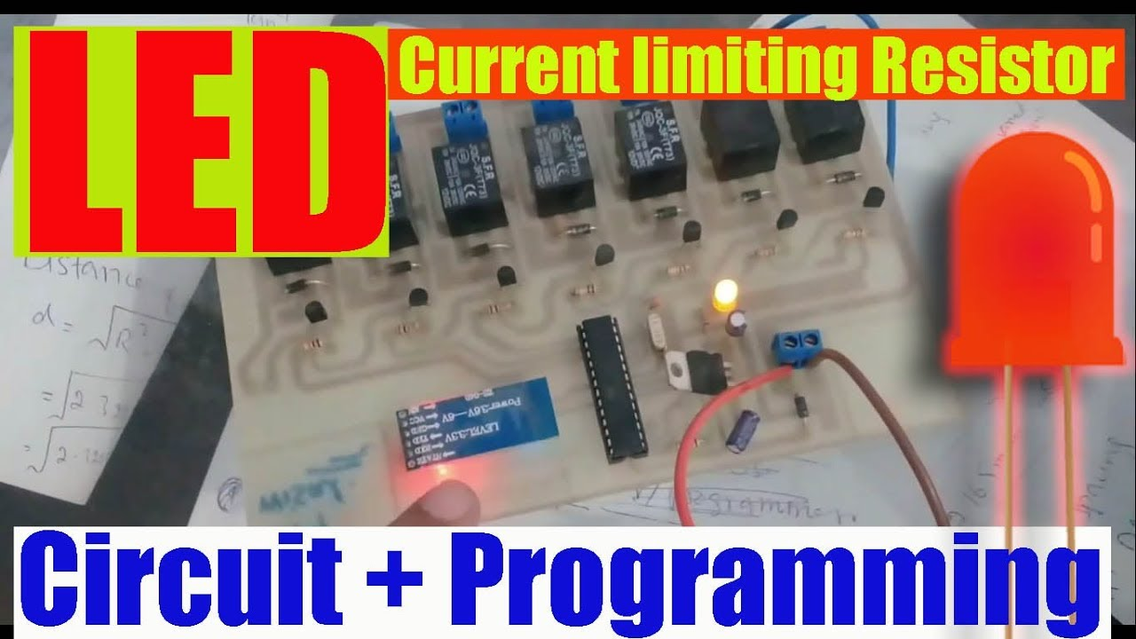 Led Light Emitting Diodeits Datasheetworkingcircuit Diagram Diode Wiring Diagramcurrent Limiting Resistor Calculation