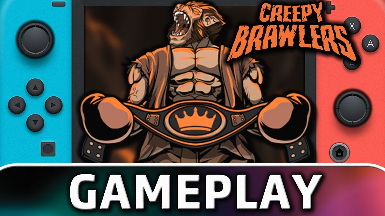 Creepy Brawlers | First 5 Minutes on Nintendo Switch