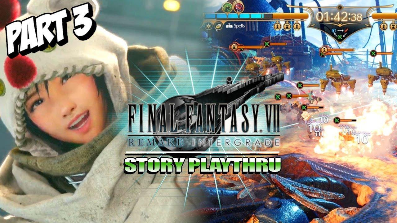 Yuffie: 5 TIME FORT CONDOR CHAMP! Final Fantasy VII Remake Intermission/Intergrade (Part 3)