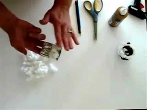 Tự làm chú cừu so kute từ lõi giấy vệ sinh