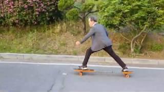 세계최초 무동력 스케이트보드 - 3D Sliding B…