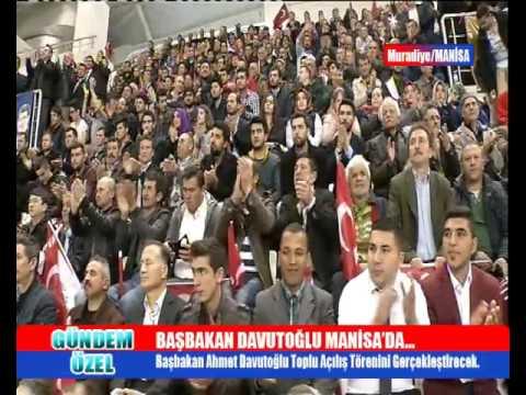 Gündem Özel - Başbakan Davutoğlu Manisa'da (25.03.2016)