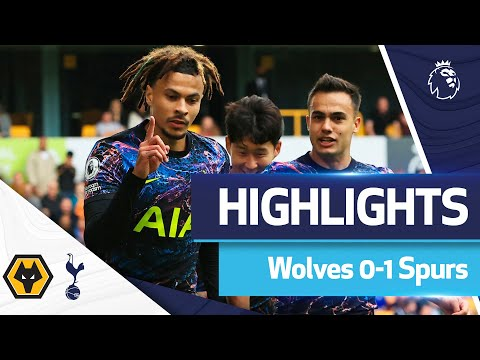 Dele penalty makes it two wins out of two in the Premier League! | Highlights: Wolves 0-1 Spurs