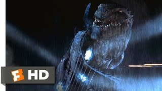 Godzilla (1998) - Godzilla Goes Down Scene (10/10)   Movieclips