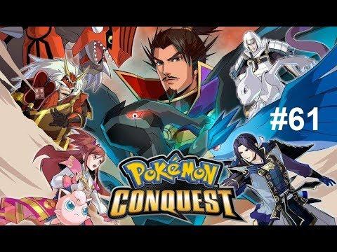 Let's Play Pokemon Conquest #61 - Tense Defense