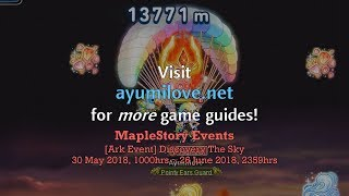 Ayumilove MapleStory Discovery The Sky (30 May to 26 June 2018) - Ark Event