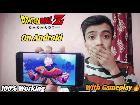 How To Play Dragon Ball Kakarot On Android(with Gameplay) |Dragon Ball Z Kakarot On Android