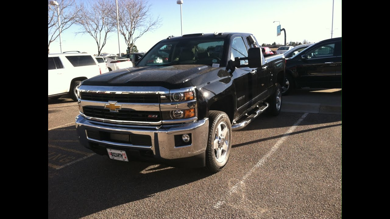 2017 Chevrolet Silverado 2500hd Ltz Double Cab Start Up In Depth Tour And Review You