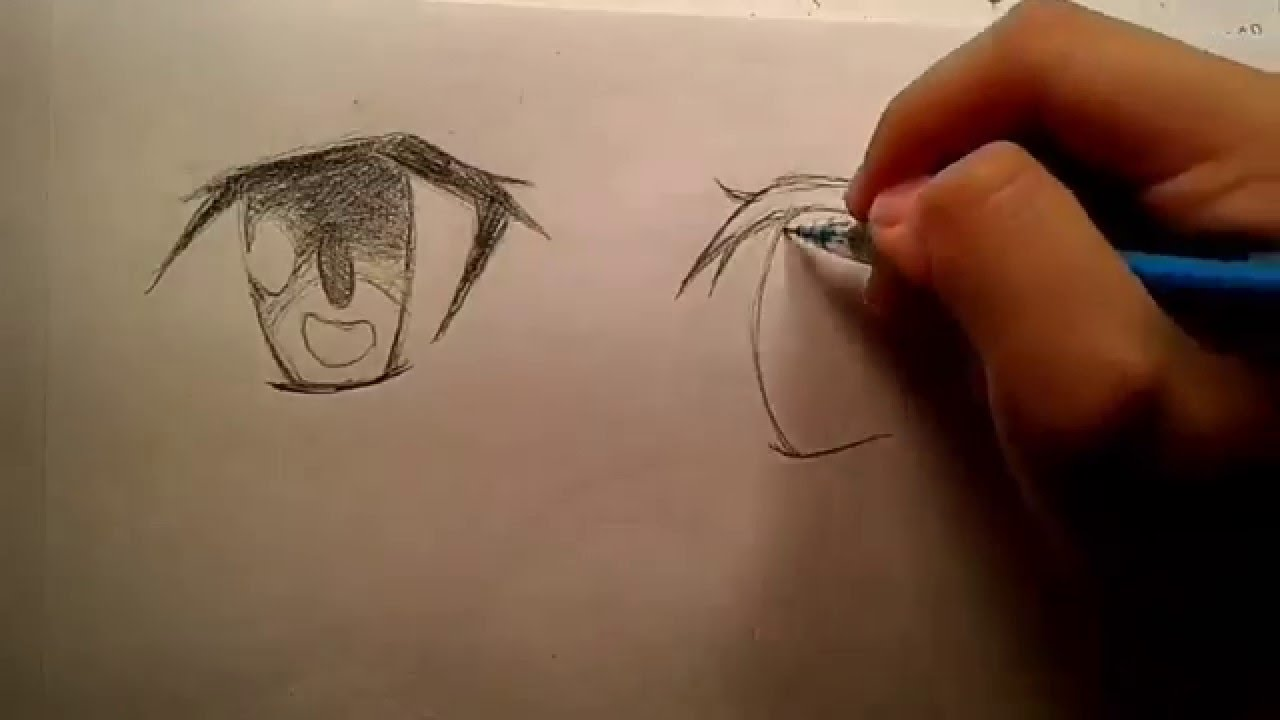 How to draw Sword Art Online eyes - YouTube