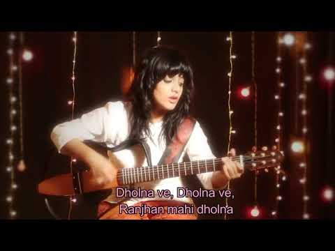 Din shagna da lyrical video  ft. Virat and Anushka || JASLEEN ROYAL