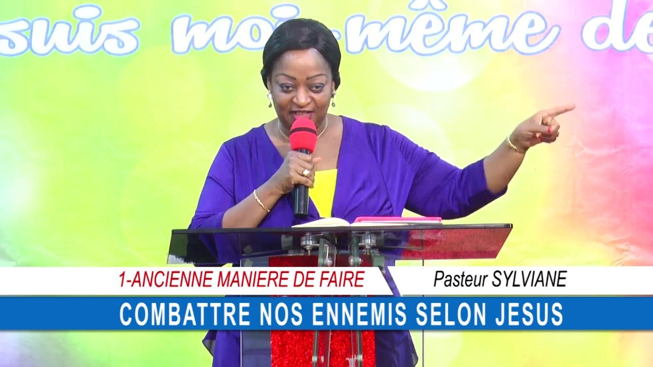 Culte benediction 2019 09 15 PASTEUR SYLVIANE COMBATTRE NOS ENNEMIS SELON JESUS