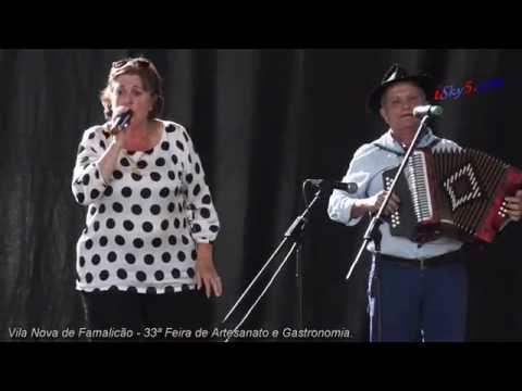 Adilia e Zé Cachadinha : Cantares ao  desafio em V.N. Famalicão.