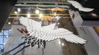 видео Ультрафиолетовая печать на зеркалах и стеклах