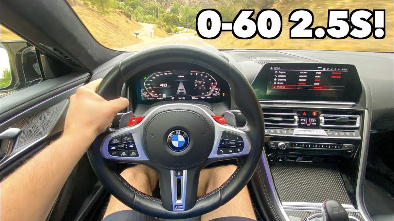 BMW M8 Competition POV Drive Review *0-60mph 2.5s!!*