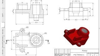 Моделирование корпуса в AutoCad 3D