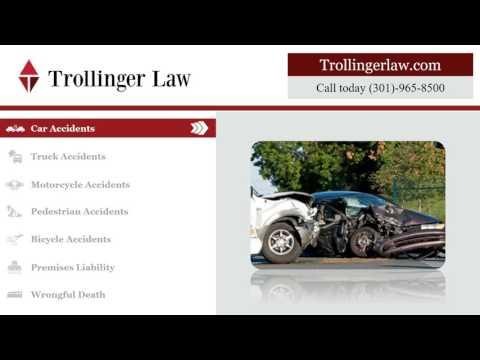 Personal Injury Attorney Waldorf MD | TrollingerLaw.com