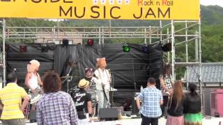 2012年7月15日小浜市翼のテラス「Sea Side Music Jam Vol.7」 お祭りモ...