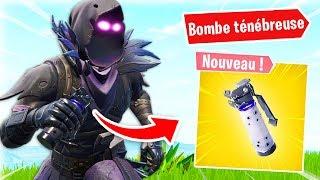 TOP 1 AVEC LA BOMBE TÉNÉBREUSE sur FORTNITE ?