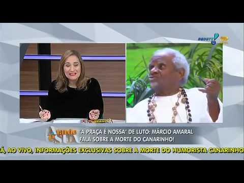 A Tarde é Sua 21/03/2014 - Humorista Márcio Amaral Relembra Bons Momentos Com Canarinho