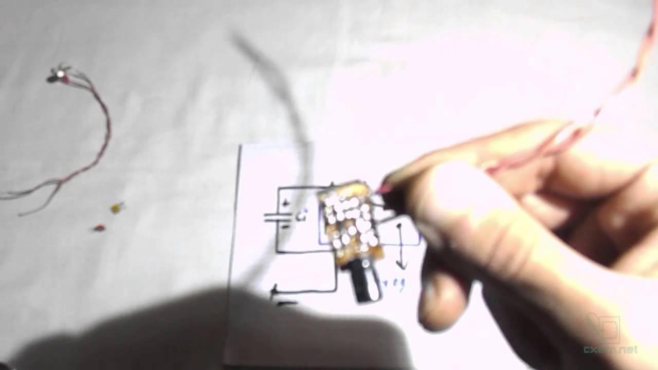 Смотреть схемы мигалки