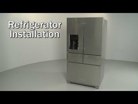 Kitchenaid Refrigerator Installation Model Krmf706ess01