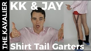 How to Keep Your F#!@ing Shirt Tucked In | Field Test of Shirt Tail Garters