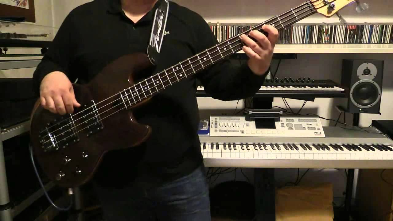Bass Cover Rush Between The Wheels With Wal Bass Mk1 Youtube