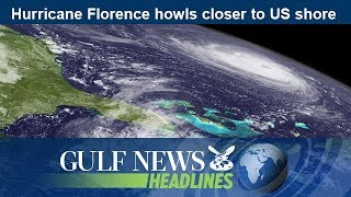 Hurricane Florence howls closer to US shore - GN Headlines